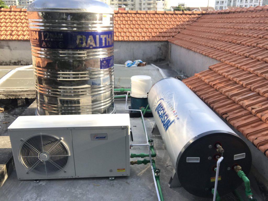 máy nước nóng điện năng lượng mặt trời megasun